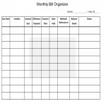012 Template Ideas Monthly Bill Organizer Excel 20Home Budget | Free Printable Monthly Bill Payment Worksheet