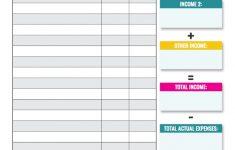 Printable Budget Worksheet Dave Ramsey