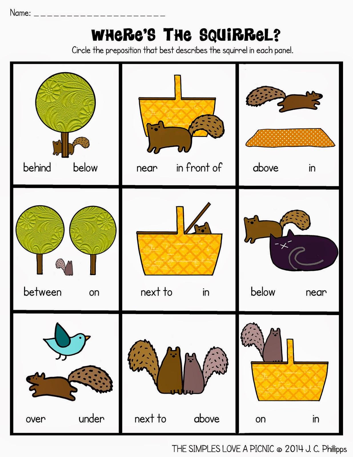 12 Prepositions Worksheets Pdf Kindergarten, Kindergarten Worksheets | Free Printable Preposition Worksheets For Kindergarten