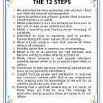 12 Steps Of Aa Worksheets Lovely Step 2 Aa Worksheet Elegant Third | Aa 12 Steps Printable Worksheets