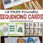 18 Free Printable Sequencing Cards For Preschoolers   Free Printable | Free Printable Sequencing Worksheets For Kindergarten
