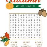 18 Fun Fall Word Search Puzzles | Kittybabylove | Fall Word Search Printable Worksheets