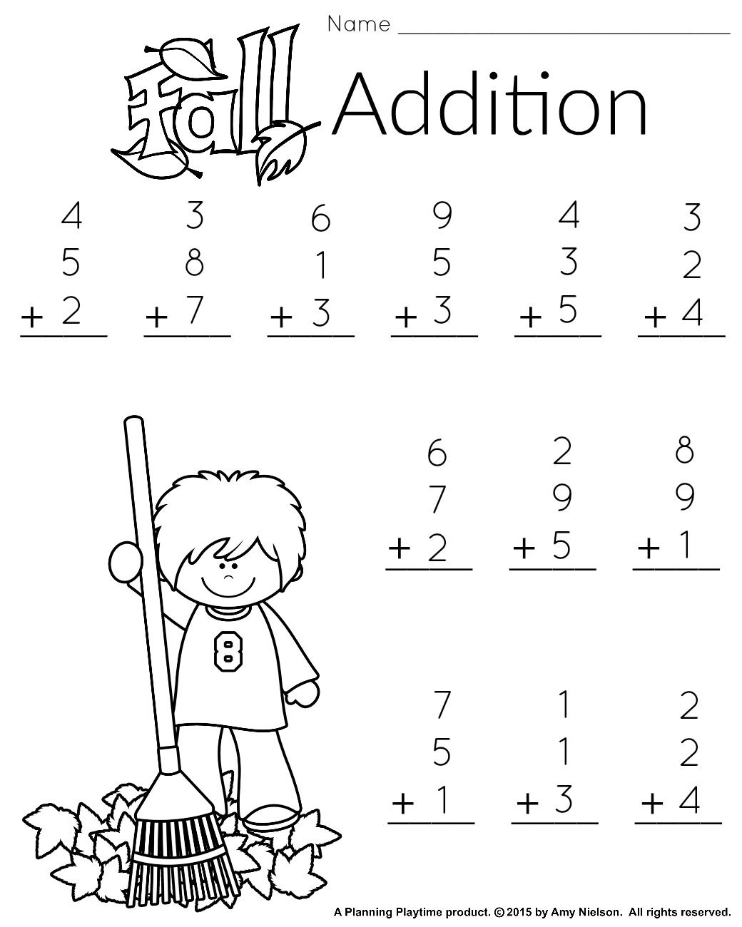 1St Grade Math And Literacy Worksheets With A Freebie! | Teachers | Free Printable First Grade Worksheets