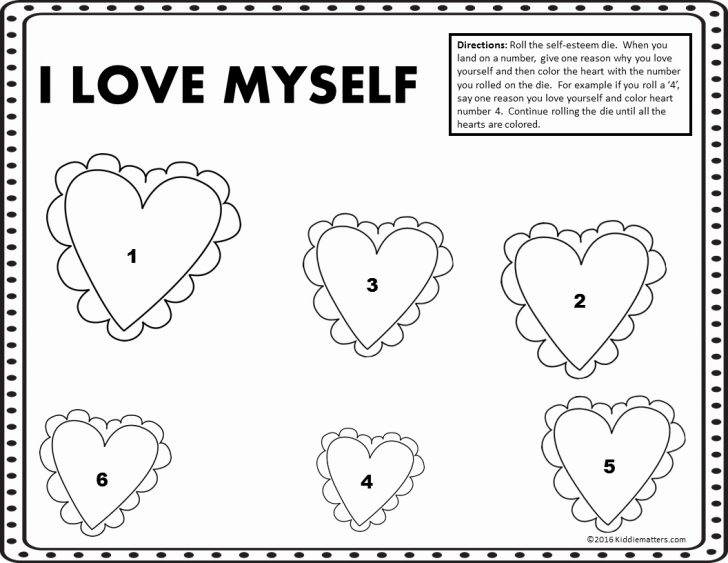 Self Esteem Printable Worksheets