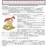 2421 Free Esl Past Simple Tense Worksheets   Free Printable Past | Past Simple Printable Worksheets