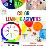 25+ Preschool Color Activities Printables   Learning Colors | Learning Colors Printable Worksheets