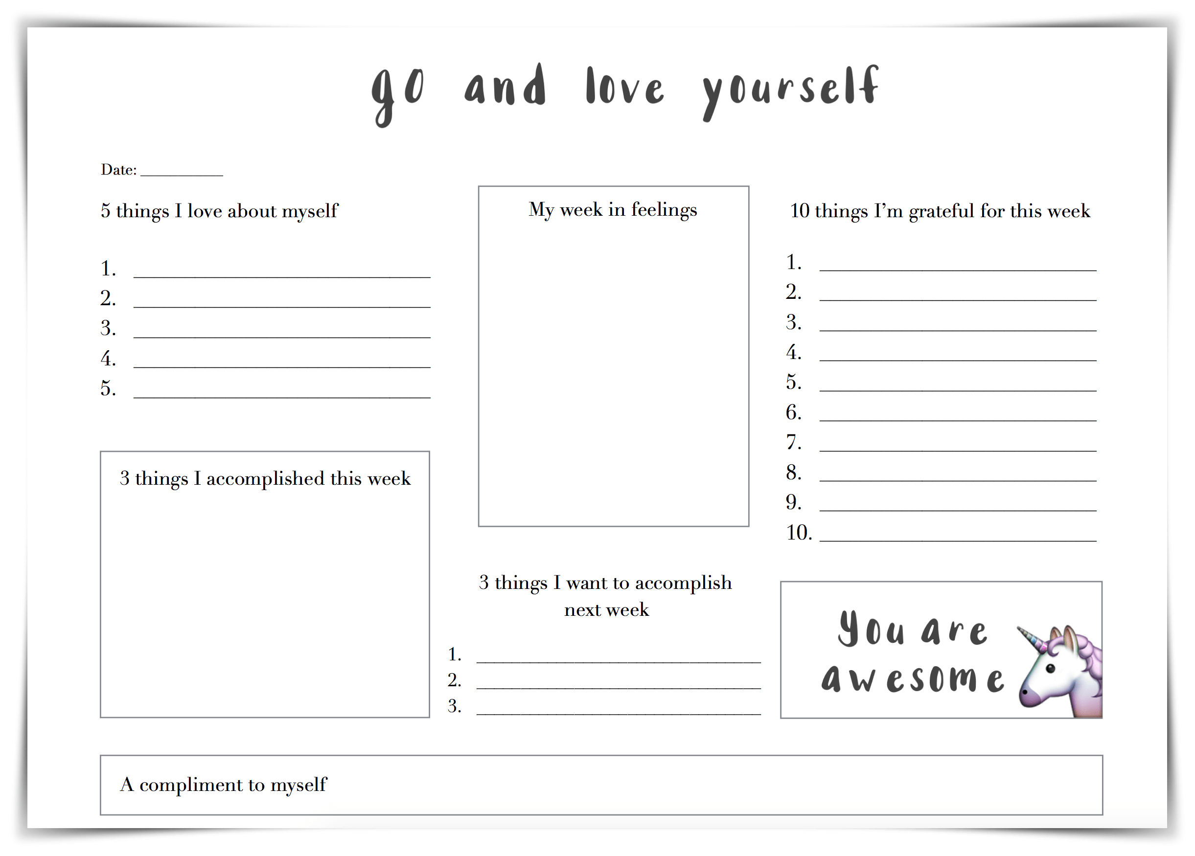 30 Self Esteem Worksheets To Print | Kittybabylove | Self Esteem Building Worksheets Printable