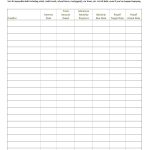 38 Debt Snowball Spreadsheets, Forms & Calculators ❄❄❄   Free | Debt Worksheet Printable