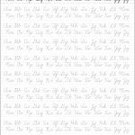 5 Printable Cursive Handwriting Worksheets For Beautiful Penmanship | Printable Cursive Writing Worksheets