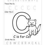 6 Best Images Of Free Printable Preschool Worksheets Letter C | Day | Letter C Printable Worksheets