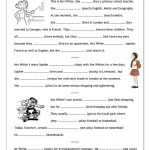 78854 Free Esl, Efl Worksheets Madeteachers For Teachers   Free | Free Printable Esl Worksheets For High School