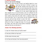 A Healthy Lifestyle Worksheet   Free Esl Printable Worksheets Made | 4Th Grade Health Printable Worksheets