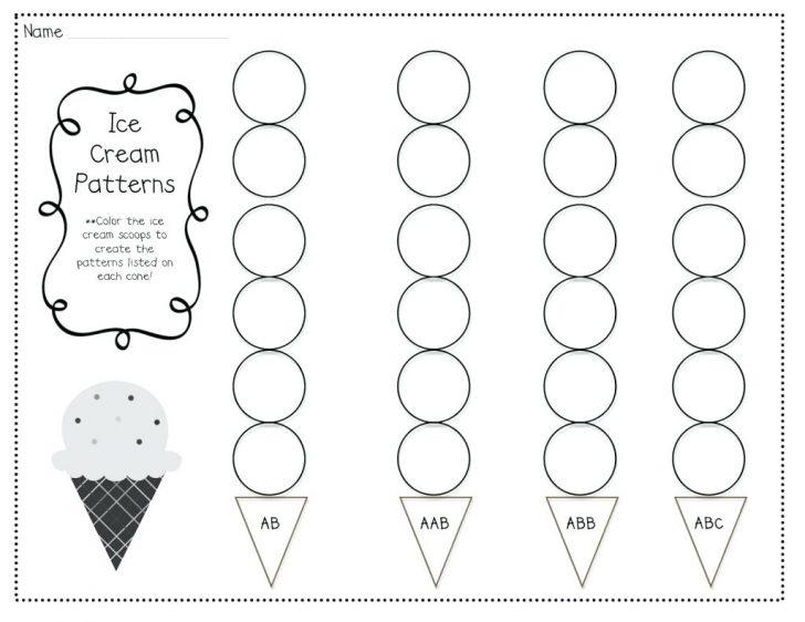 Free Printable Ab Pattern Worksheets