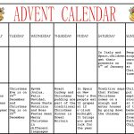 Advent Calendar Worksheet   Free Esl Printable Worksheets Made | Advent Printable Worksheets