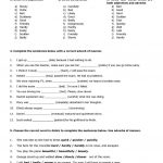 Adverbs Of Manner Worksheet   Free Esl … | English Grammar; Learn | Free Printable Worksheets On Adverbs For Grade 5