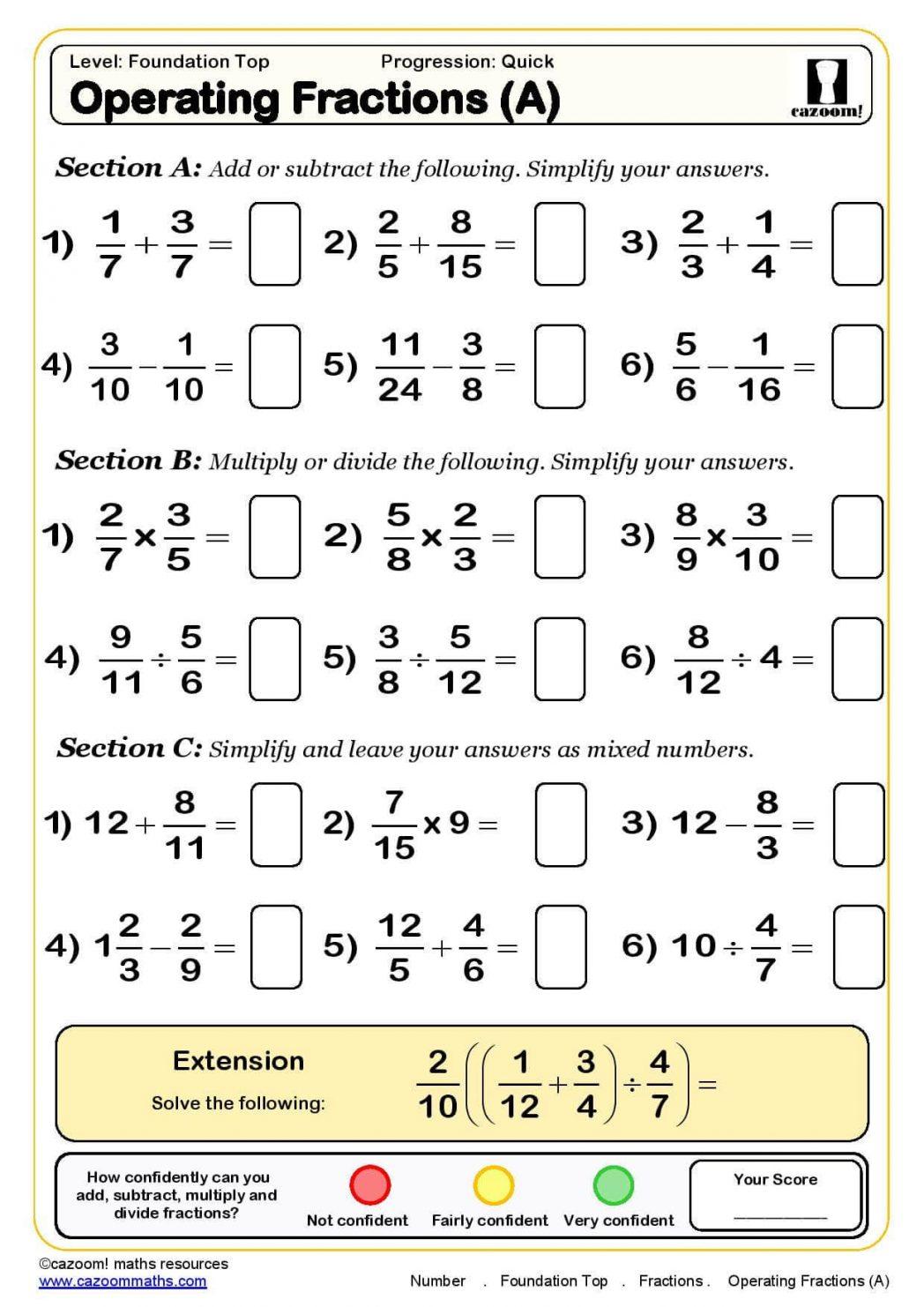 Algebra: Ks3 Maths Worksheets Algebra Revision Worksheet | Ks3 Science Revision Worksheets Printable