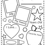 All About Me Worksheet All About Me Free Printable Worksheets   Free | All About Me Printable Worksheets
