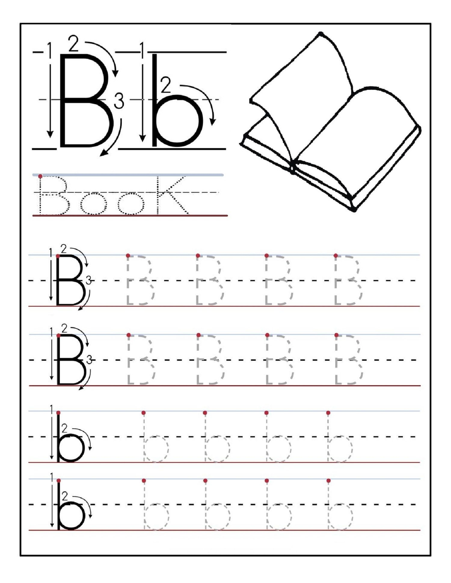 Alphabet Tracing Printables Best For Writing Introduction | Free Printable Abc Tracing Worksheets