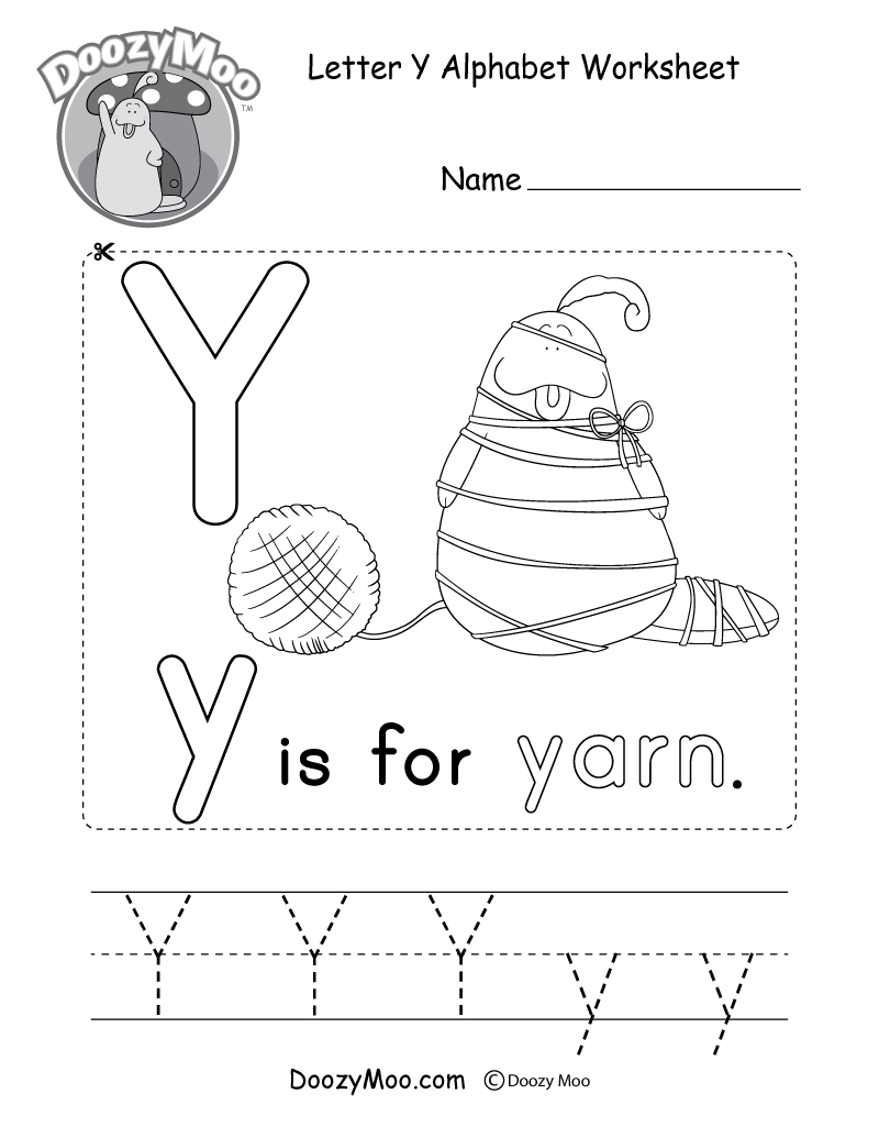 Alphabet Worksheets (Free Printables) - Doozy Moo | Alphabet Printables Free Worksheets