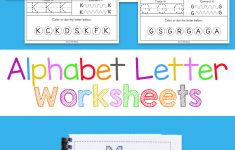 Childrens Printable Alphabet Worksheets