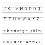 Alphabet Writing Practice Sheet | Edu Fun | Alphabet Worksheets | Free Printable Letter Worksheets