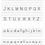 Alphabet Writing Practice Sheet | Edu Fun | Alphabet Worksheets | Free Printable Writing Worksheets For Kindergarten