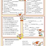 Am, Is, Are, Has, Have Worksheet   Free Esl Printable Worksheets | Printable Worksheets Esl Students