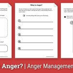 Anger Activity For Children: What Is Anger? (Worksheet) | Therapist Aid | Anger Management Printable Worksheets