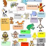 Animals Sounds Worksheet   Free Esl Printable Worksheets Made | Animal Sounds Printable Worksheets