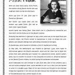 Anne Frank Worksheet   Free Esl Printable Worksheets Madeteachers | Holocaust Printable Worksheets