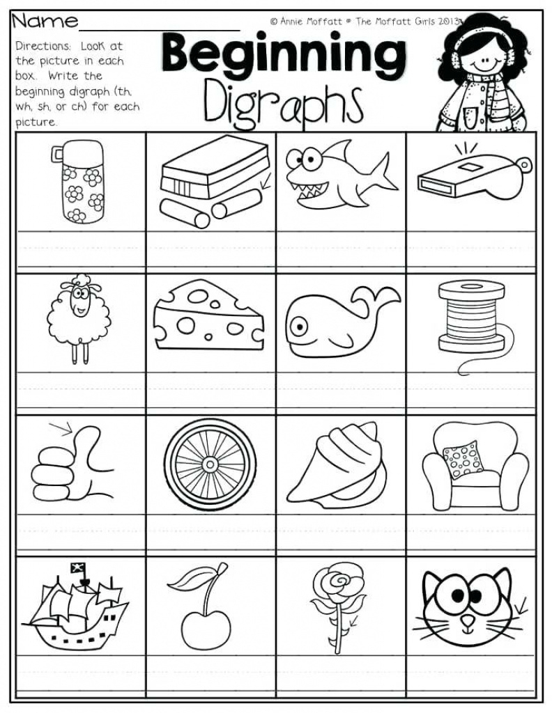 Articulation Worksheets Free Sh Ch Printable Activities For Free | Free Printable Ch Digraph Worksheets