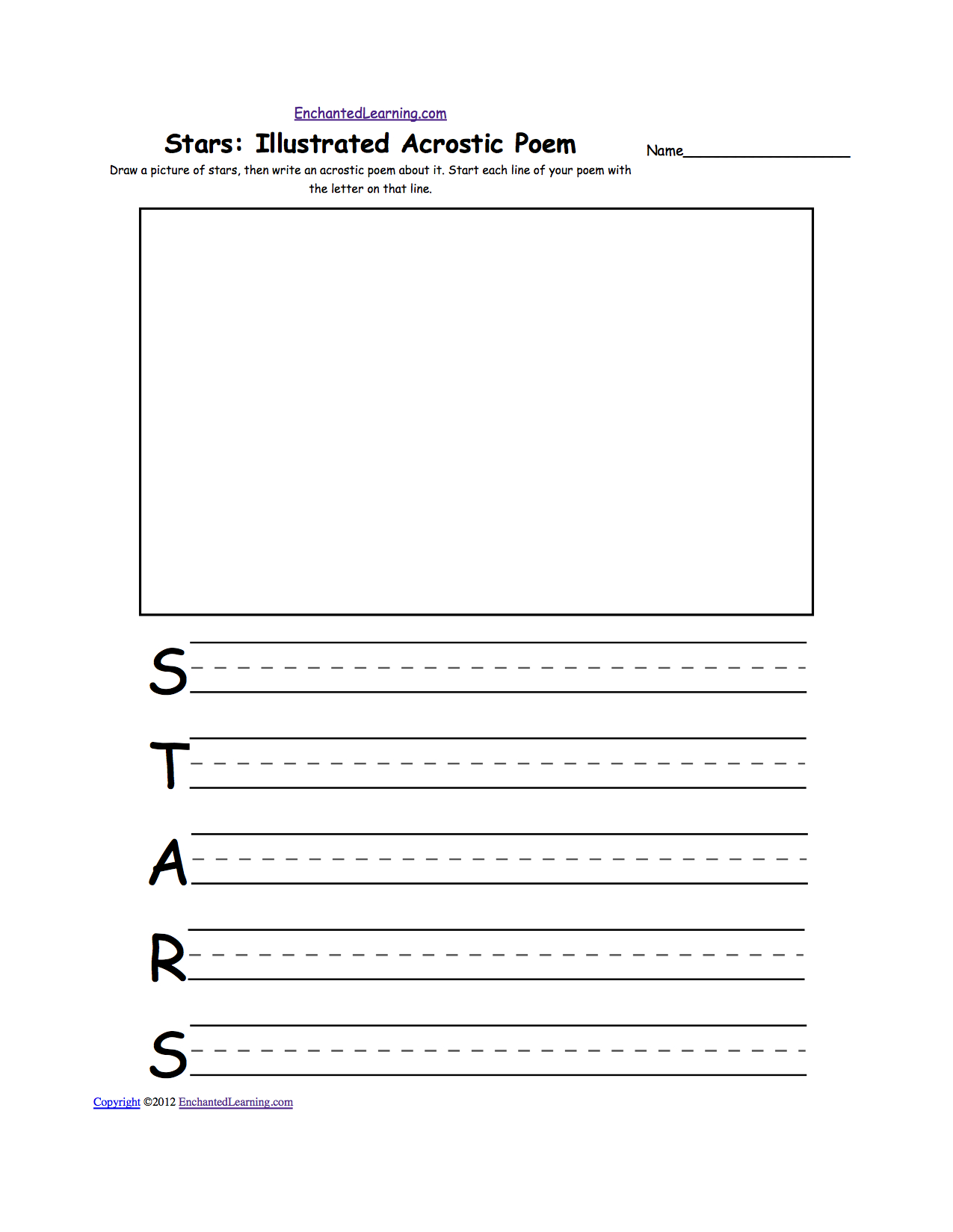 Astronomy And Space K-3 Theme Page At Enchantedlearning | Constellations Printable Worksheets