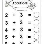 Beginner Addition – 6 Kindergarten Addition Worksheets / Free | Free Printable Math Addition Worksheets For Kindergarten