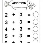 Beginner Addition – 6 Kindergarten Addition Worksheets / Free | Free Printable Simple Math Worksheets