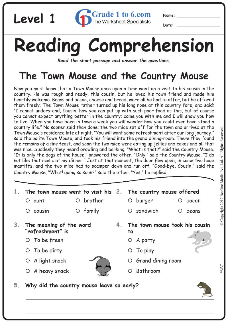 Best Math & English Worksheets / Workbooks / E-Workbooks / Grade1To6 | 4Th Grade English Worksheets Free Printable