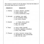 Big And Small Ideas Worksheet   Free Esl Printable Worksheets Made | Big And Small Ideas Printable Worksheets