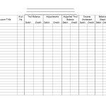 Blank Accounting Worksheets   Karis.sticken.co | Accounting Worksheet Template Printable