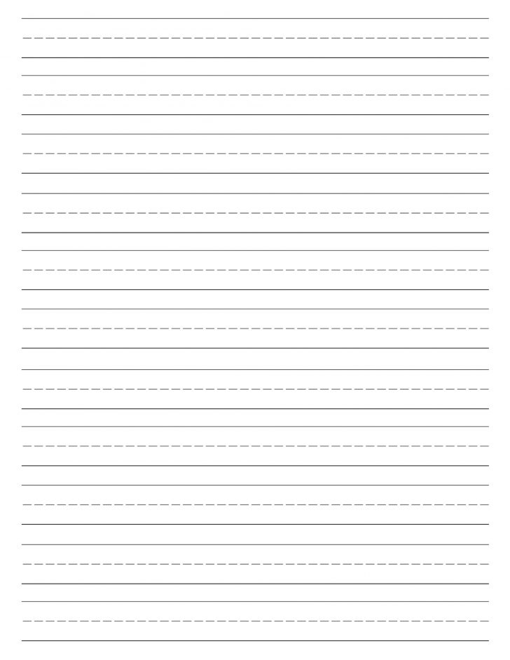 Blank Handwriting Worksheets Printable Free