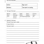 Book Report Form For Non Fiction Worksheet   Free Esl Printable | Printable Book Report Worksheets
