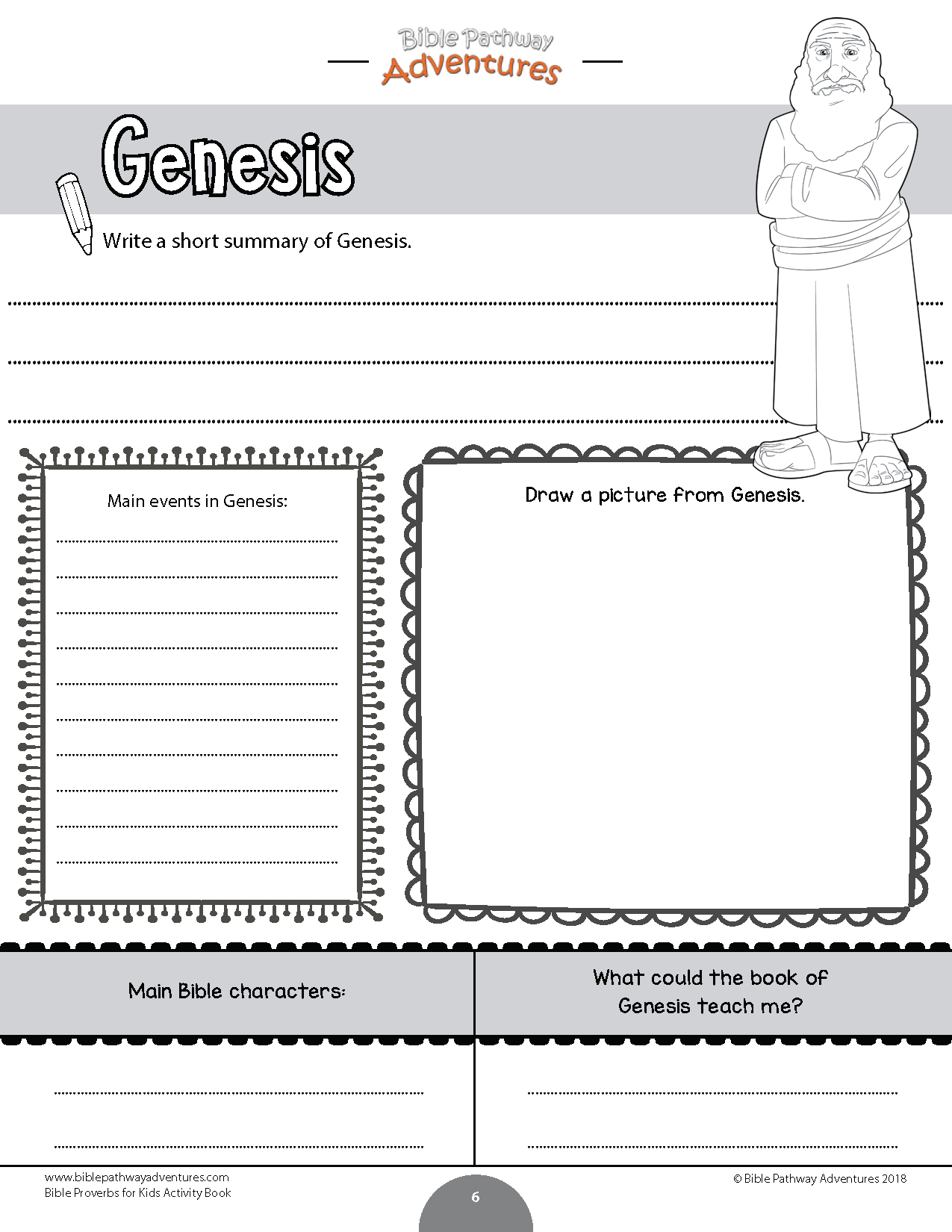 Books Of The Bible Coloring Activity Book | Sunday School | Bible | Books Of The Bible Printable Worksheets