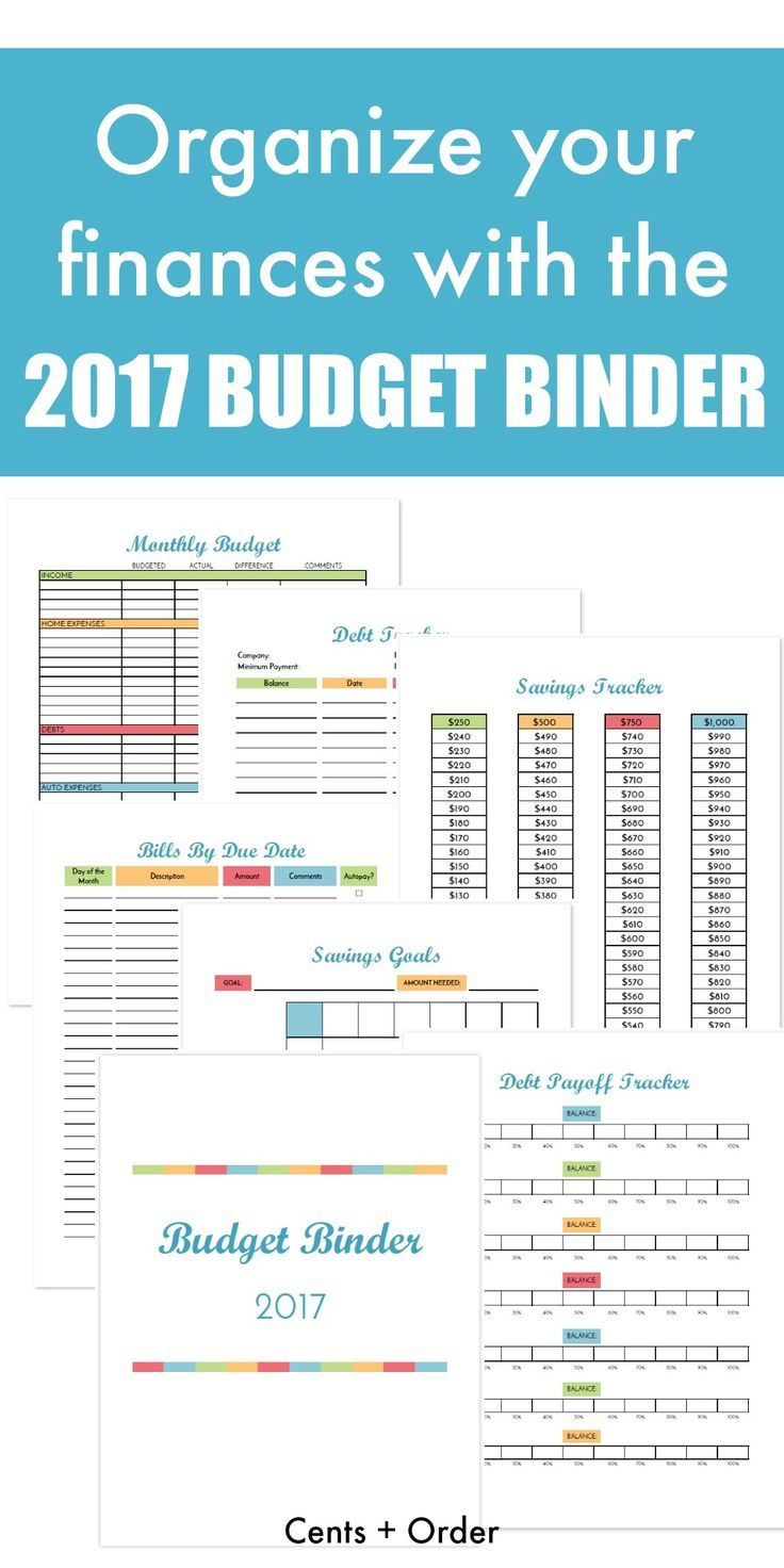 Budget Binder Printable: How To Organize Your Finances   Best Money   Printable Budget Binder Worksheets