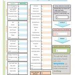 Budget Worksheet Free Printable.pdf | Important Documents | Printable Budget Worksheet Dave Ramsey