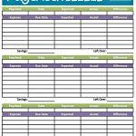 Budget Worksheet Printable | Get Paid Weekly And Charlie Gets Paid | Budget Helper Worksheet Printable