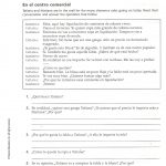 Capitulo 2   Sra. Sheets' Spanish Class | Reflexive Verbs In Spanish Printable Worksheets