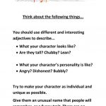 Character Development Worksheet   Free Esl Printable Worksheets Made | Character Development Worksheet Printable