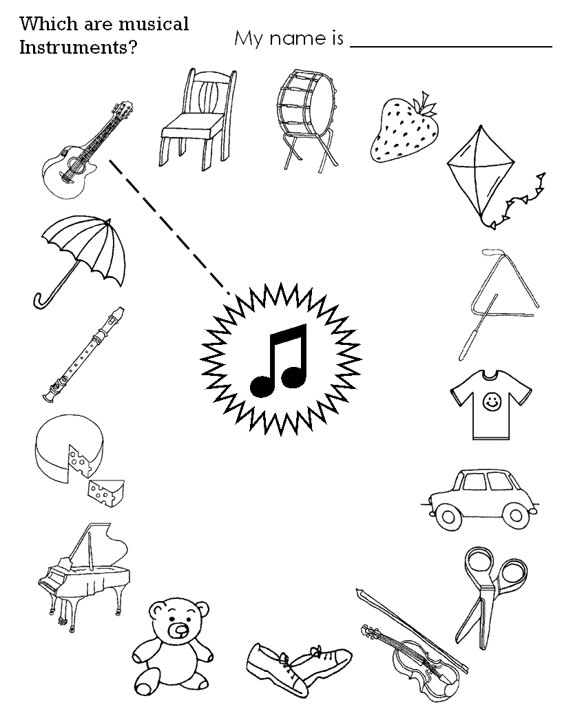 Childrens Printable Activities – With Activity For Kids Also Basic | Free Printable Preschool Music Worksheets