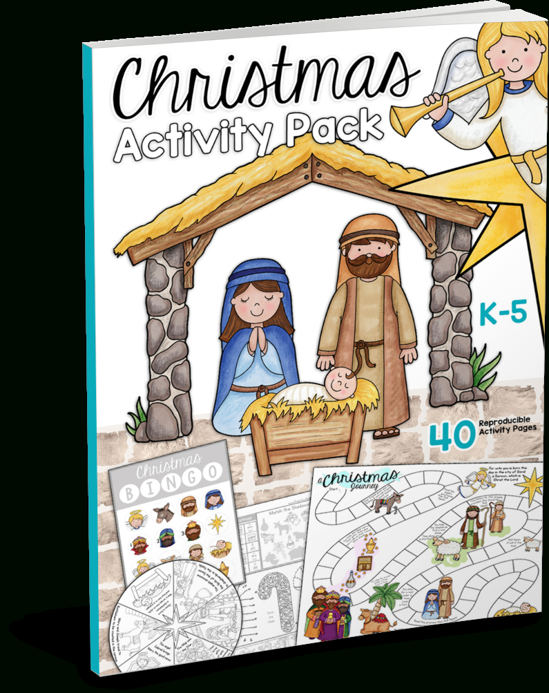 Christmas Bible Printables - Christian Preschool Printables | Christian Christmas Worksheets Printable Free