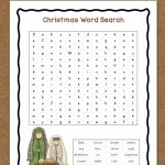 Christmas Word Search: Free Printable   Mamas Learning Corner | Christian Christmas Worksheets Printable Free