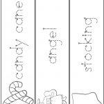 Christmas Word Tracing Practice | A To Z Teacher Stuff Printable | Printable Name Tracing Worksheets