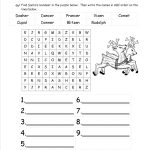 Christmas Worksheets And Printouts | Christian Christmas Worksheets Printable Free